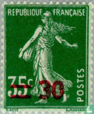 Frankrijk [FRA] - Zaaister, met opdruk