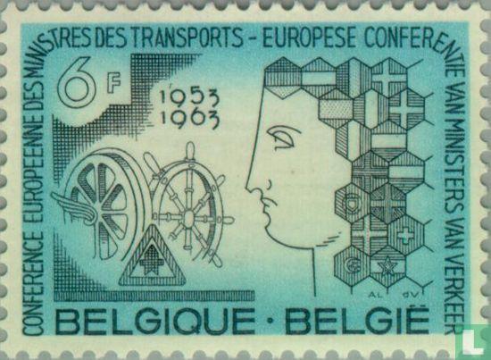 Belgium [BEL] - European transport ministers