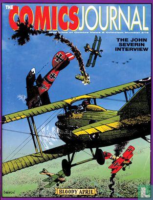 Comics Journal, The (tijdschrift) [Engels] - The Comics Journal 215