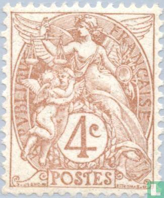 France [FRA] - Allegory (Type Blanc)