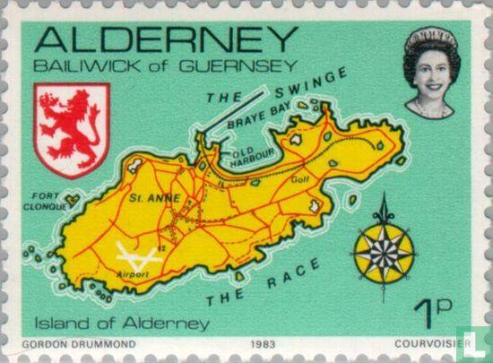 Alderney - Ansichten von Alderney