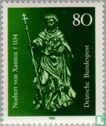 Allemagne [DEU] - Année de décès de Norbert von Xanten 850e