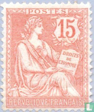 Frankrijk [FRA] - Allegorie (Type Mouchon)