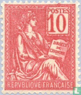 France [FRA] - Allegory (Type Mouchon)