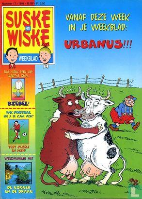 Suske en Wiske weekblad (tijdschrift) - 1998 nummer  17