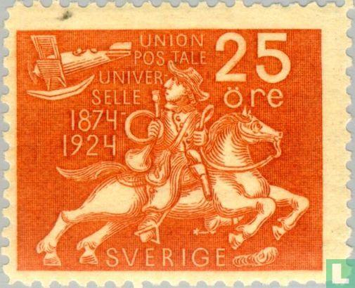 Suède [SWE] - 50 ans de l'UPU