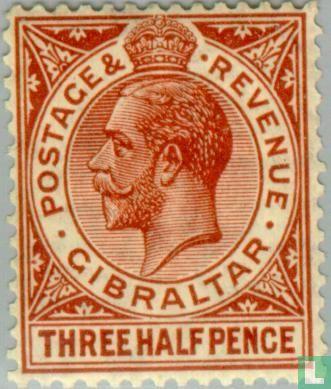Gibraltar - King George V