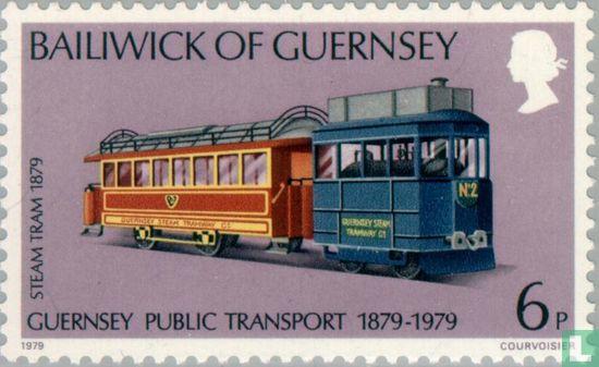 Guernesey - 100 ans de transports publics
