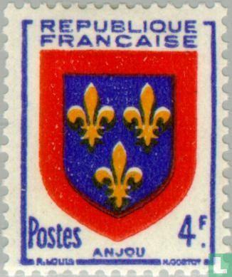 Frankrijk [FRA] - Wapen van Anjou