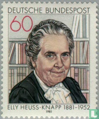Germany [DEU] - Elly Heuss-Knapp 100 years