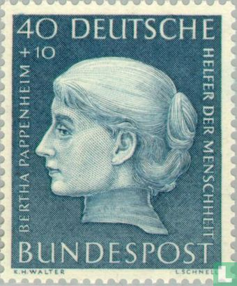 Germany [DEU] - Bertha Pappenheim,