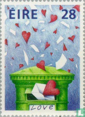 LOVE Briefmarken