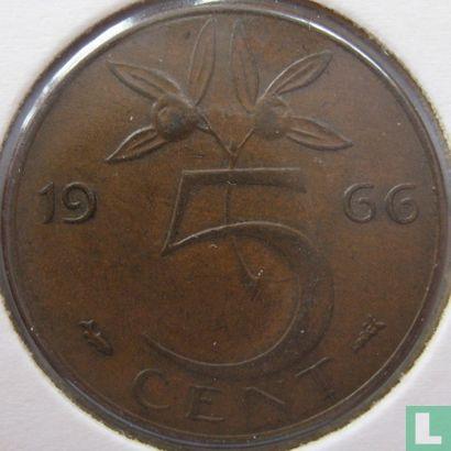 Niederlande - Niederlande 5 Cent 1966