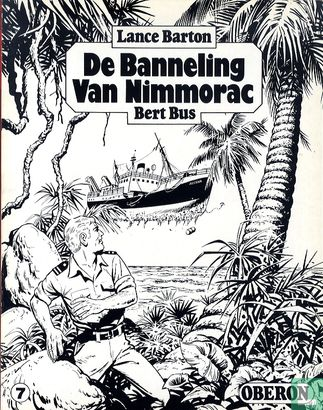 Lance Barton - De banneling van Nimmorac 1