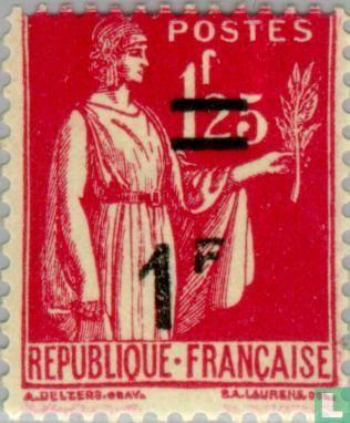 Frankrijk [FRA] - Vrede, met opdruk