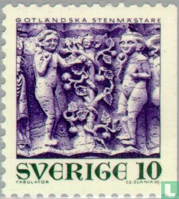 Zweden [SWE] - Stone kunst van Gotland