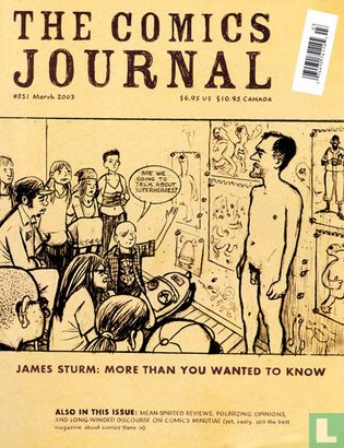 Comics Journal, The (tijdschrift) [Engels] - The Comics Journal 251