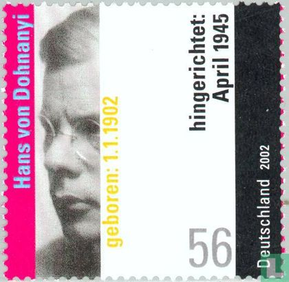 Germany [DEU] - Dohnanyi, Hans von 1902-1945