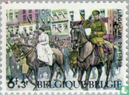 Belgique [BEL] - Fin de la 1ère guerre mondiale