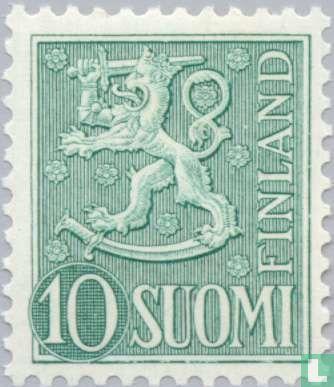 Finland - New heraldic lion