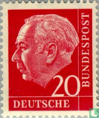 Allemagne [DEU] - Theodor Heuss