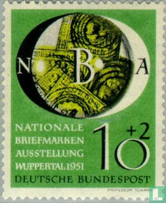 Germany [DEU] - Stamp Exhibition Wuppertal