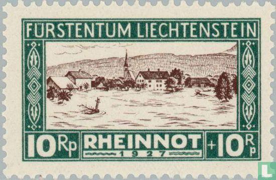 Liechtenstein - Hochwasser