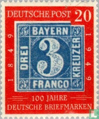 Germany [DEU] - Stamp Anniversary 1849-1949