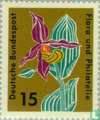 Germany [DEU] - Flora and philately Stamp Exhibition