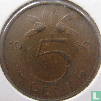 Niederlande - Niederlande 5 Cent 1960