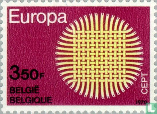 Belgique [BEL] - Europa – Soleil tressé