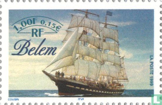"""Frankrijk [FRA] - Zeilschepen - """"Belem"""""""