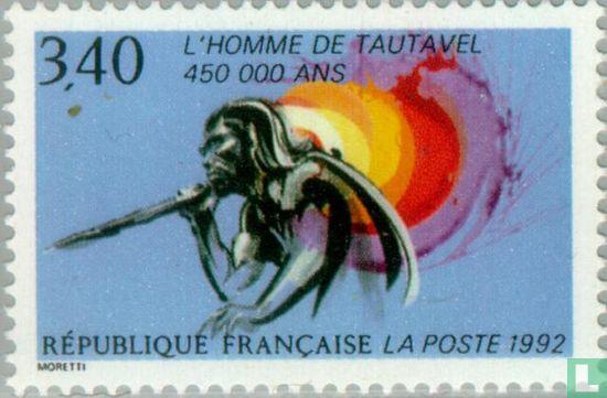 France [FRA] - Homme préhistorique