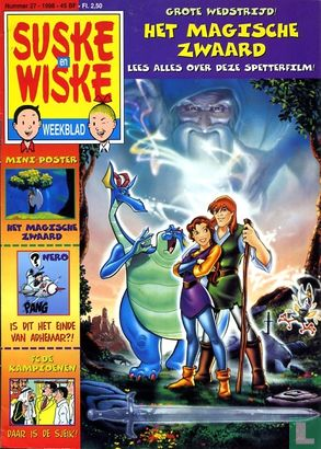 Suske en Wiske weekblad (tijdschrift) - 1998 nummer  27