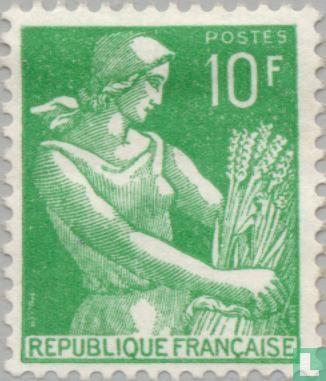 France [FRA] - Peasant woman