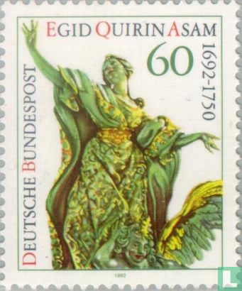 Allemagne [DEU] - Egid Quirin Asam, 300 ans