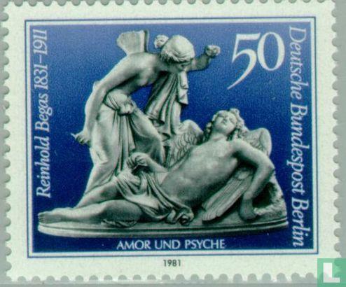 Berlin - Reinhold Begas, 150 Jahre alt