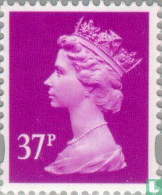 Great Britain - Queen Elizabeth II-Machin Decimal