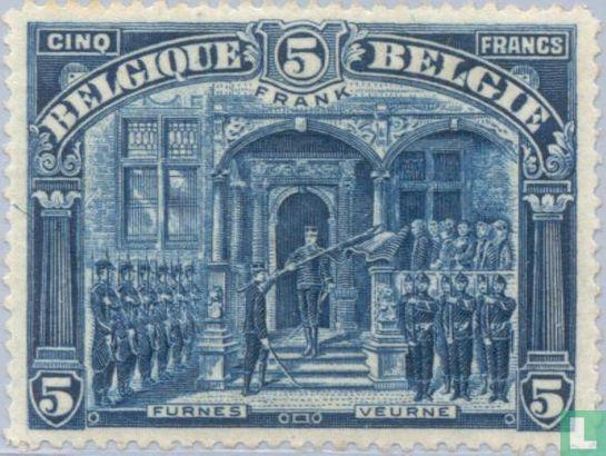 Belgique [BEL] - Roi Albert I à Furnes