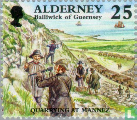 Alderney - Historische Entwicklung