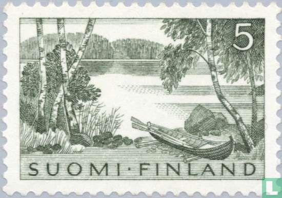 Finland - Lake scenery from Keuru