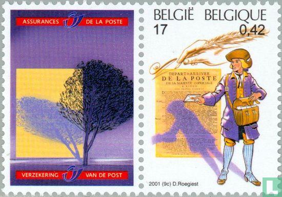 België [BEL] - Europese post