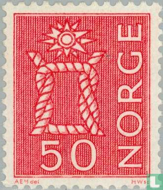 Norway - 50 red