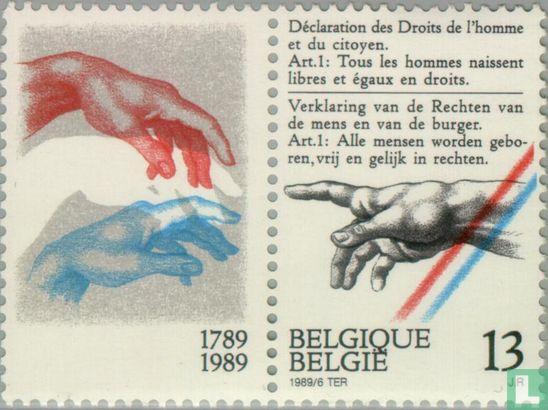 Belgien [BEL] - Erklärung der Menschenrechte und Bürgerrechte 1789-1989