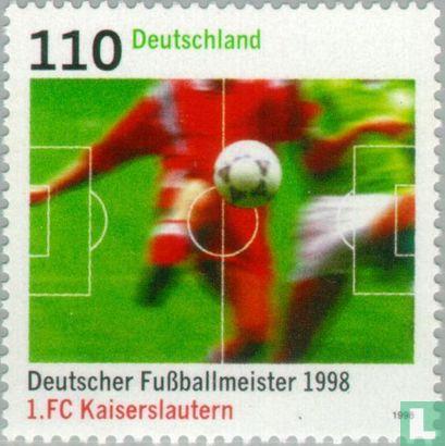 Allemagne [DEU] - Allemande de football champion du FC Kaiserslautern