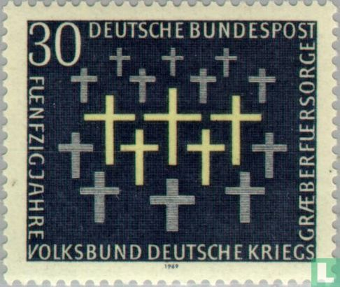 Deutschland [DEU] - Kriegsgräberfürsorge 1919-1969