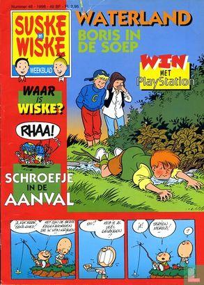 Suske en Wiske weekblad (tijdschrift) - 1998 nummer  46