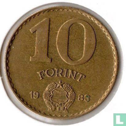 Hongarije (Magyar Köztársaság) - Hongarije 10 forint 1983