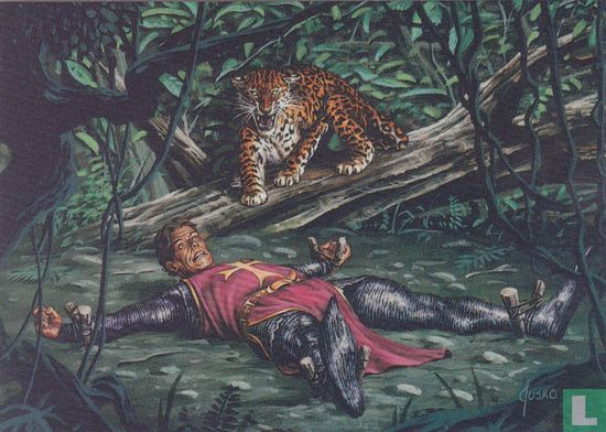 """Joe Jusko's Edgar Rice Burroughs Collection 1 - """"Staked Out"""""""