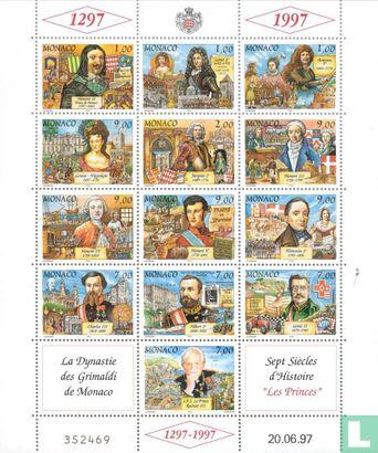 Monaco - Grimaldi Dynasty